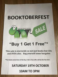 Booktoberfest Mulga Road Bookshop