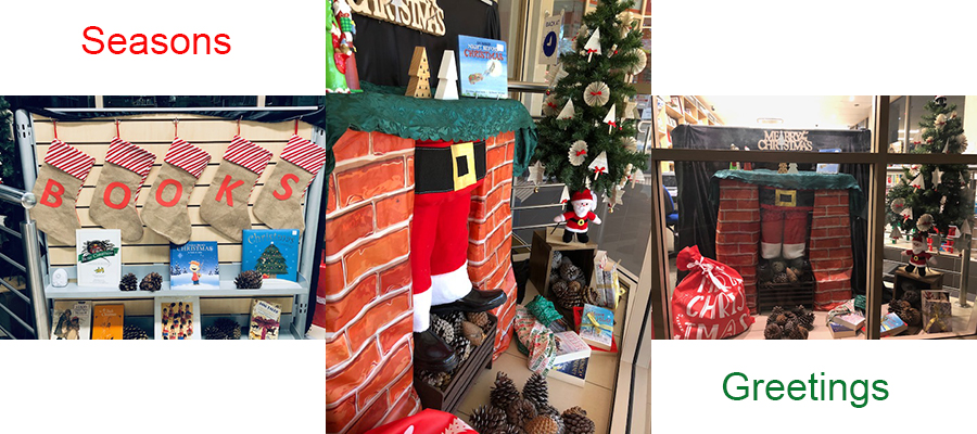 Christmas has come to the bookshop in time for the Mulga Road Community Celebration on Wednesday 27th November. Make sure you come and visit us and have a look at our window.